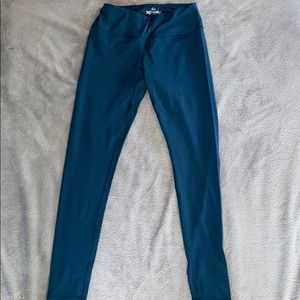 teal full length leggings